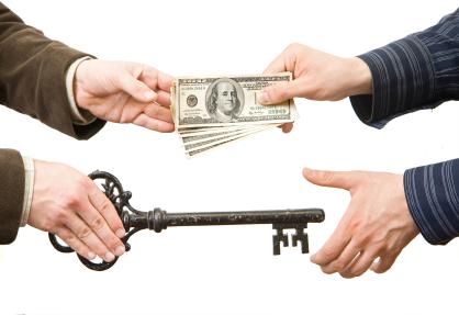 Closing monies and key